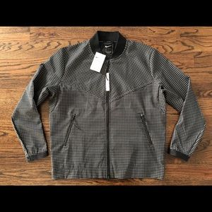 $160 NWT Nike Tech Pack Grid Bomber Jacket Mens L